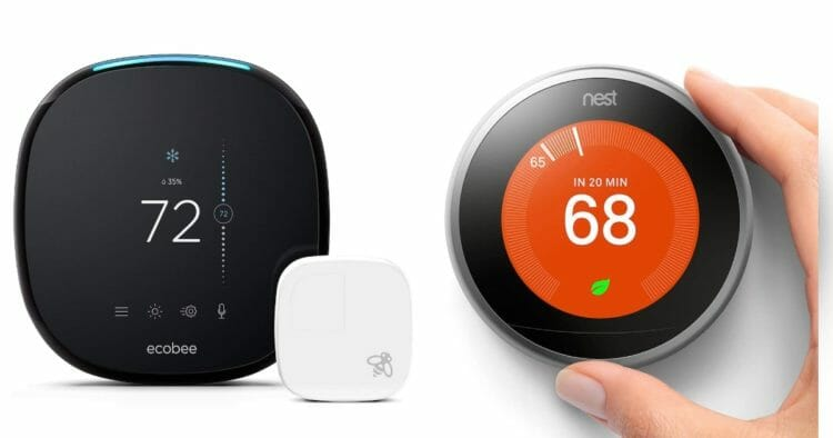 ecobee4 vs. nest learning thermostat