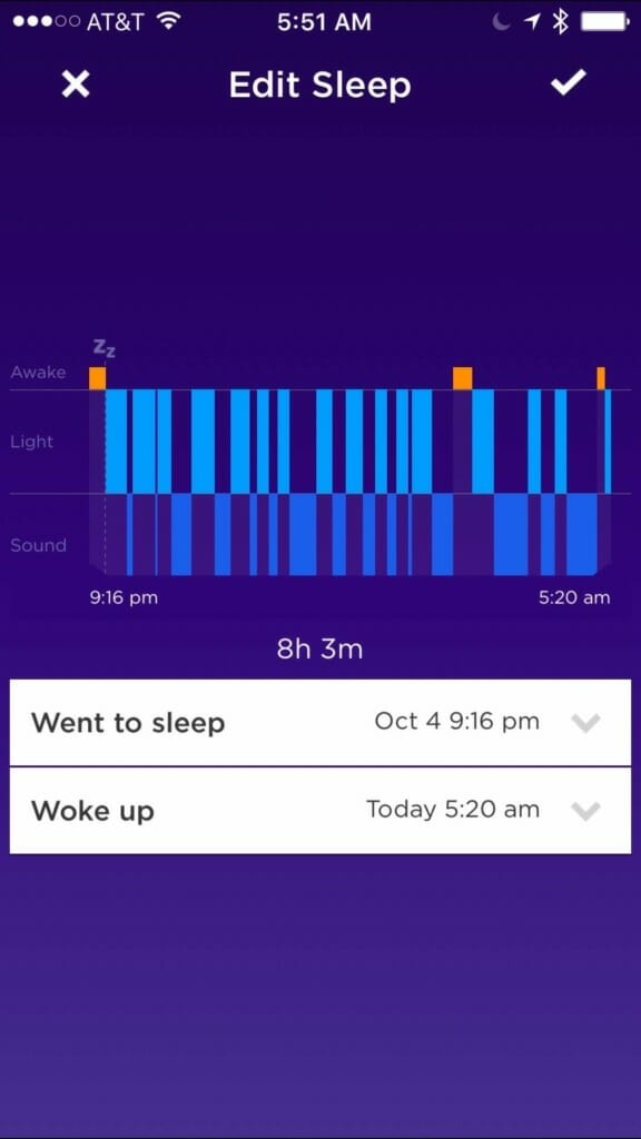 how to delete all data on jawbone up app