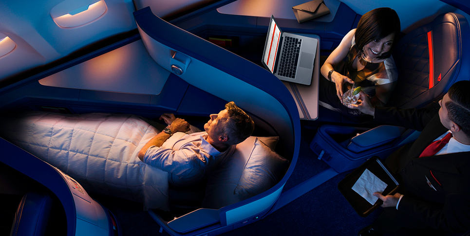 Delta Airlines - How to upgrade to first class or business class