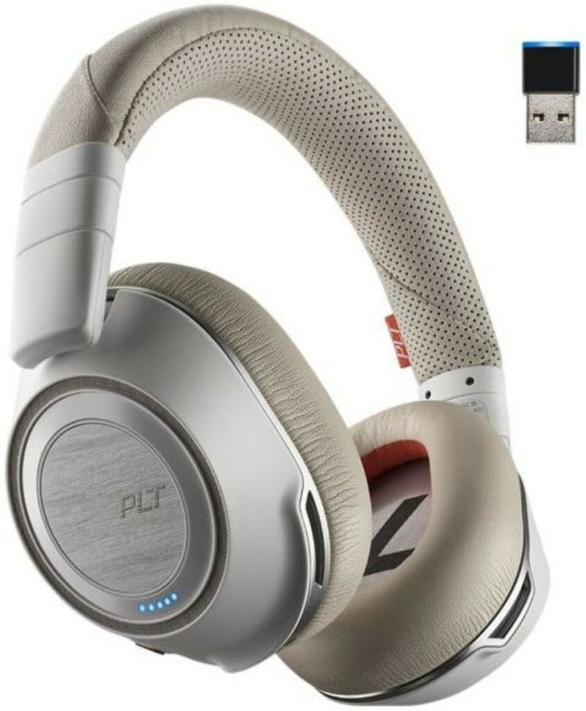 Plantronics Voyager 8200 UC Over-the-ear Noise-canceling Headphones