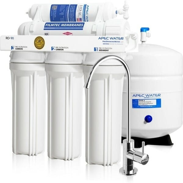 RO-90 – Ultimate 5-Stage 90 GPD Reverse Osmosis Drinking Water System
