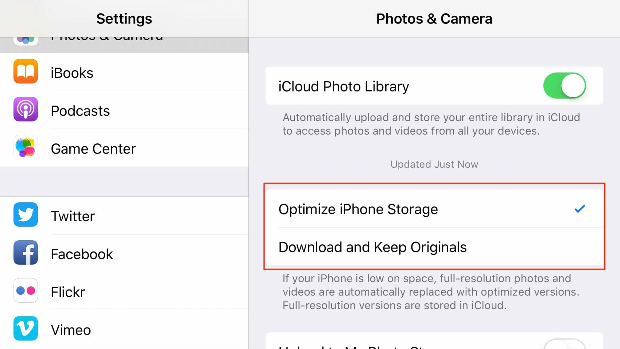 Do Not Delete Photos From An Iphone To Free Up Space