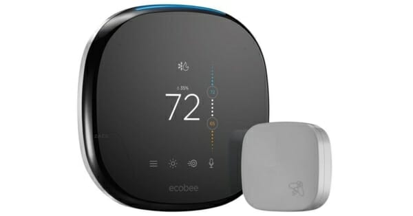 ecobee4 smart thermostat with homekit review. Black Bedroom Furniture Sets. Home Design Ideas