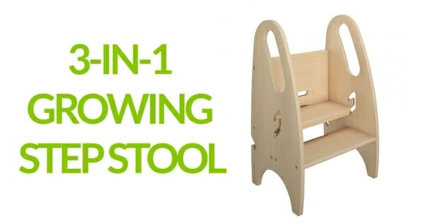 Review: Growing Step Stool for toddlers and kids by Little Partners