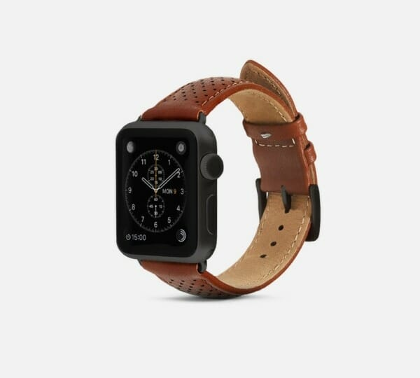 Review - Premium leather bands for the Apple Watch from Burkley and Monowear