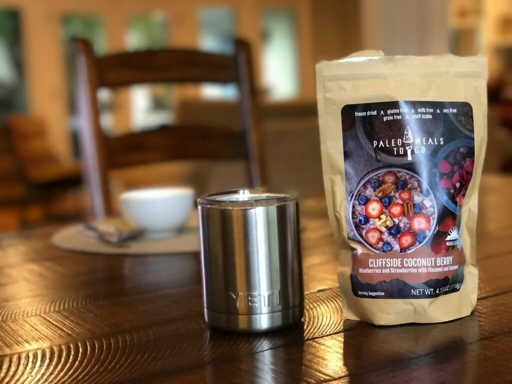 Paleo Meals To Go: Freeze-dried meals for backpackers and travelers