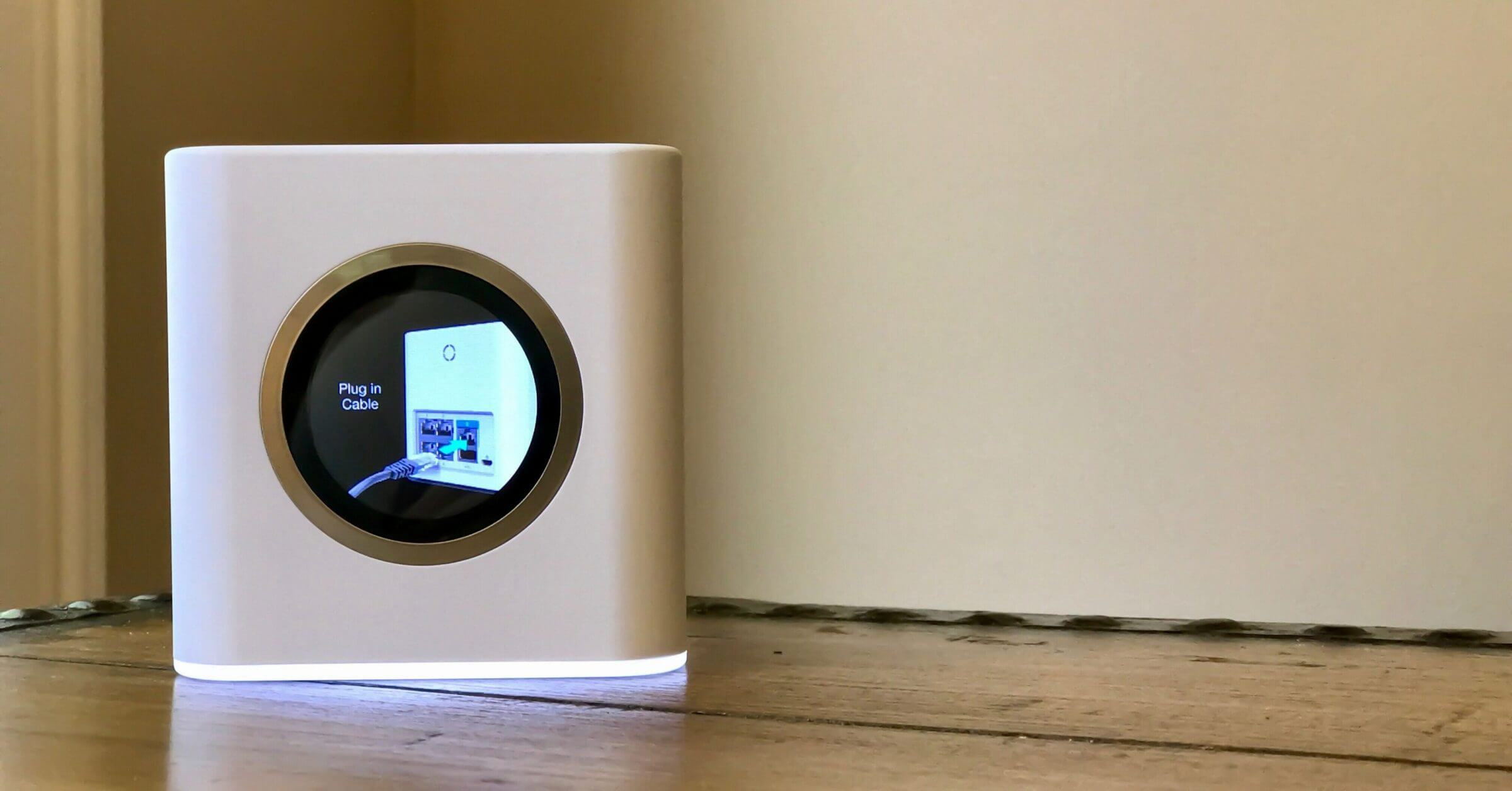 Amplifi Hd Review Wireless Mesh Network For Better Wifi Poin Ethernet Wall Jack Wiring Error Message On B When You Connect The Cable To Wrong Port
