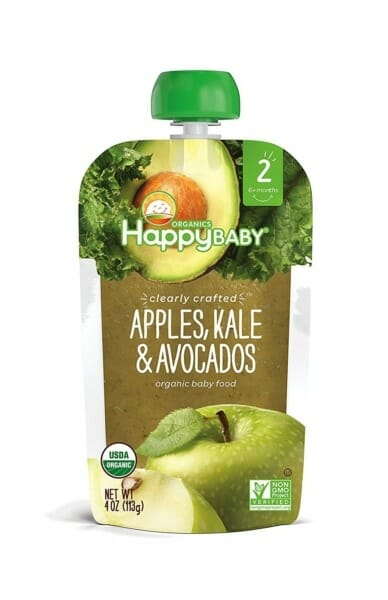 Organic baby food from Happy Baby
