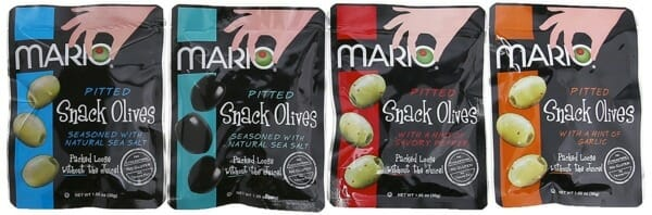 Pitted snack olives from Mario Camacho