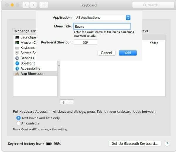print preview shortcut in pdf