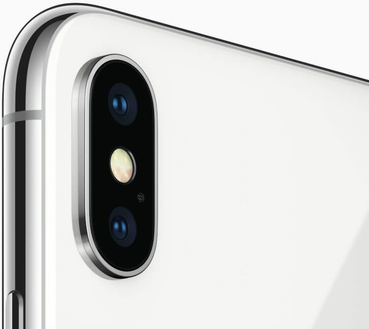 iPhone X Dual Rear Camera System