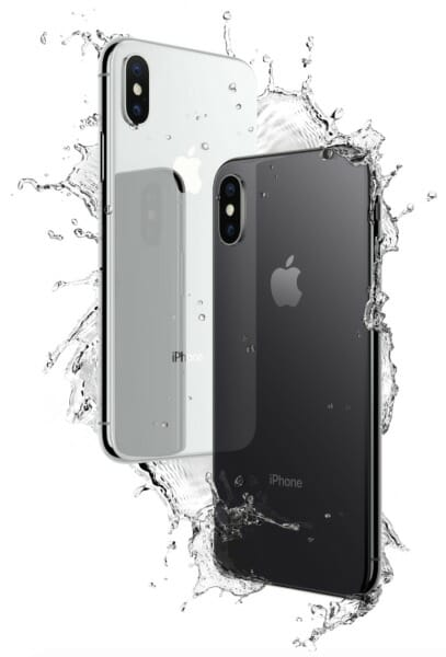 iPhone X IP67 Water Resistance