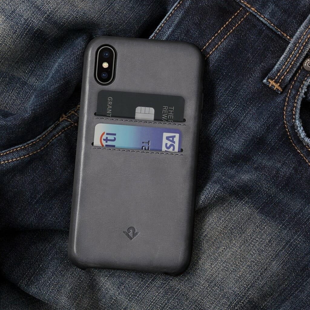 Twelve South Relaxed Leather case with credit card slots