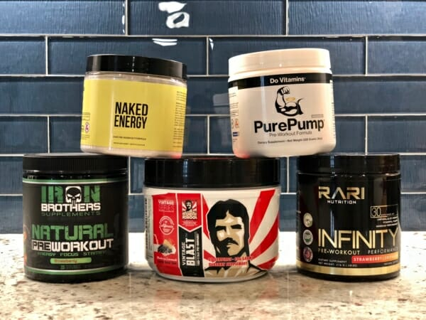 Review of the best natural pre-workout supplements for CrossFit