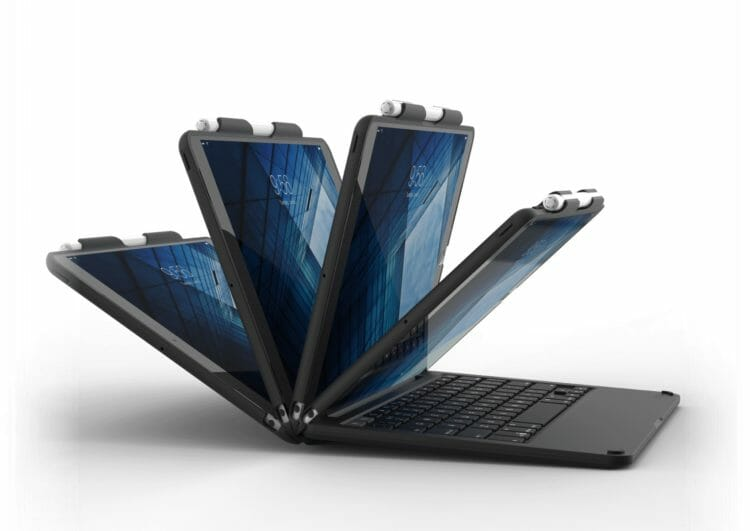 zagg slim book - viewing angle