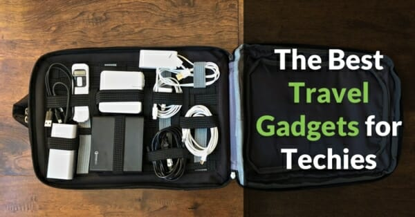 Here is my top 30 list of the best travel accessories and cool gadgets for techies for men and women