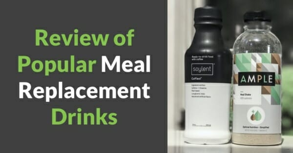 Ample vs. Soylent - Review of meal replacement drinks