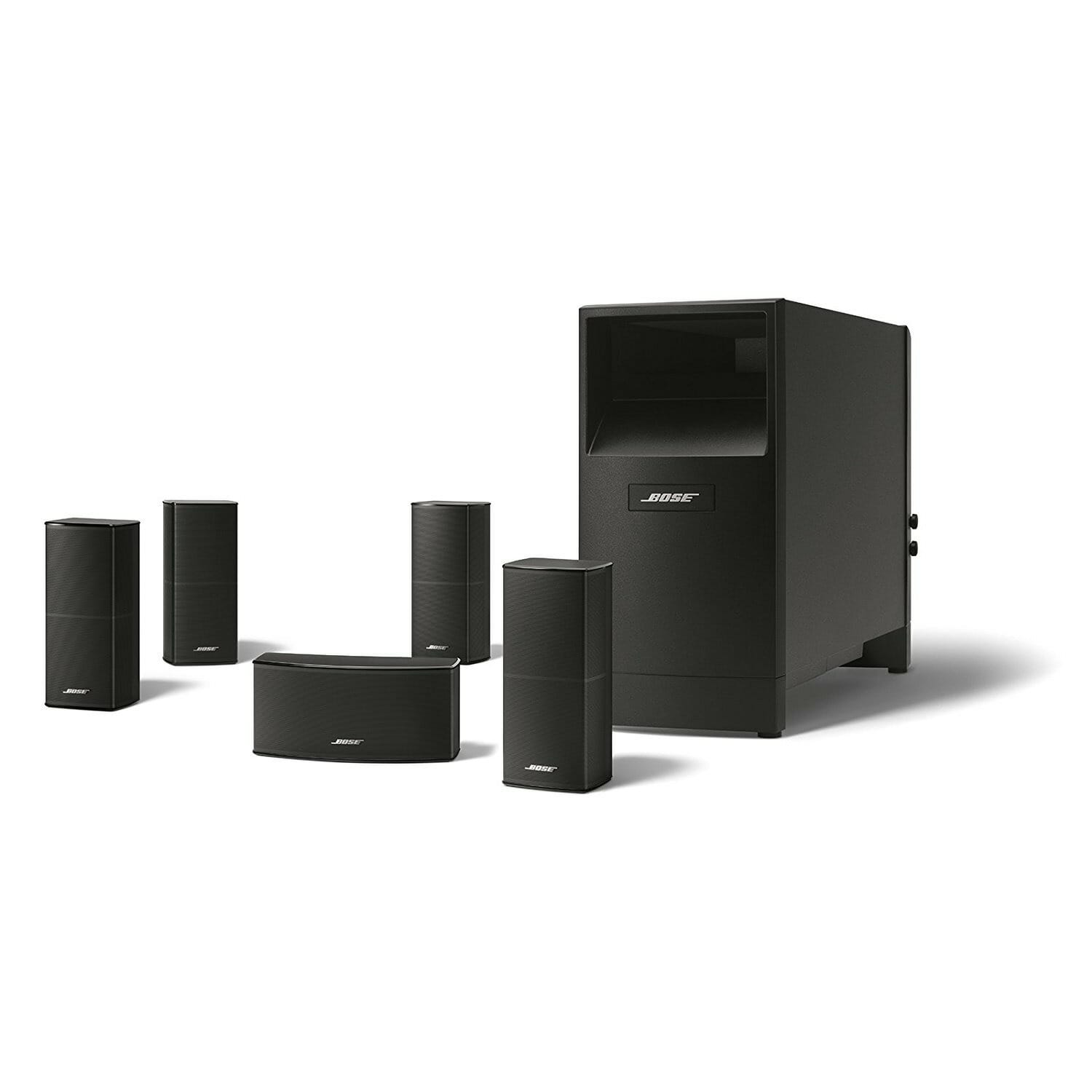 The Bose Acoustimass 10 Series II Home Theater Speaker System