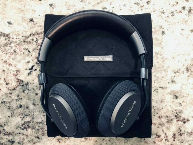 Bowers & Wilkins PX and Storage Pouch