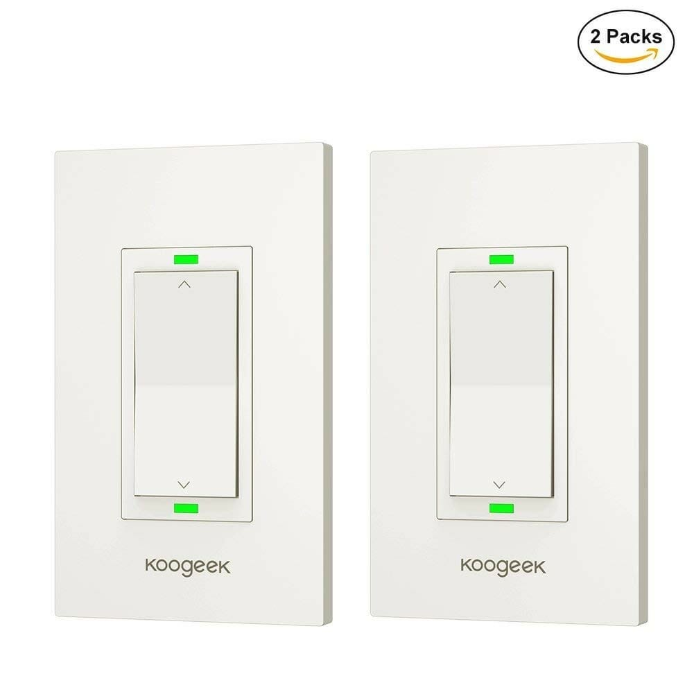 Homekit Light Switches Dimmers Review Automation Because Smart Require Both Hot And Neutral Koogeek Kh03 Dimmer 2 Pack