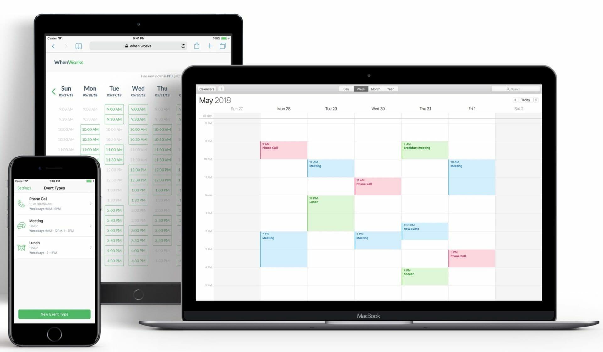 WhenWorks Scheduling Service