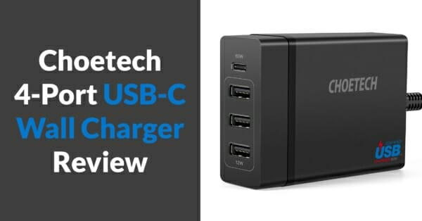 choetech usb-c wall charger review@2x