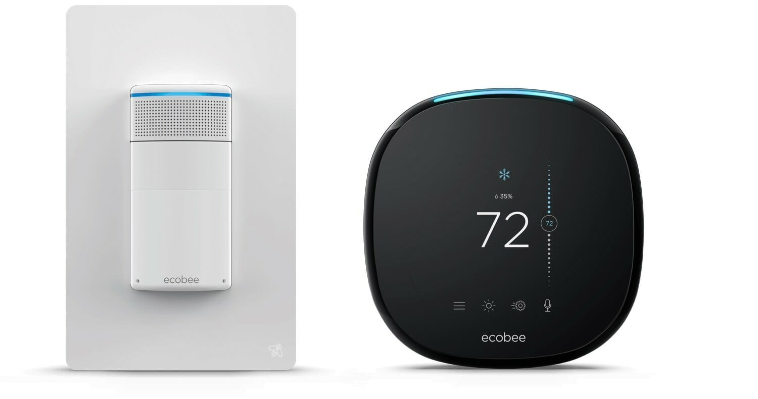 ecobee Switch+ integrates with the ecobee4 thermostat