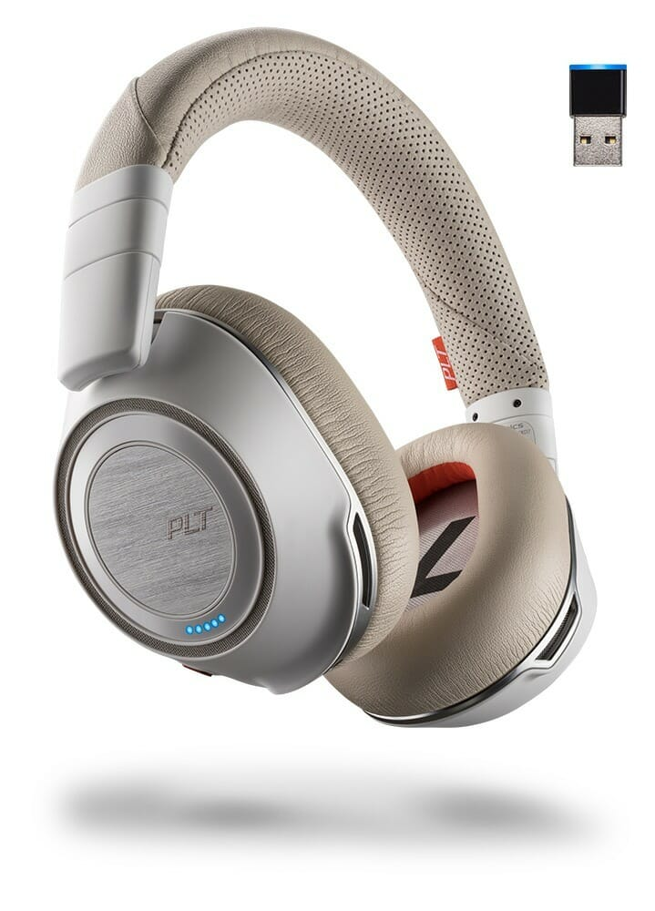 Plantronics Voyager 8200 UC in Silver