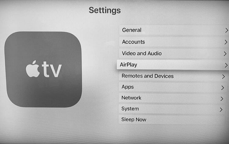 Apple TV - AirPlay