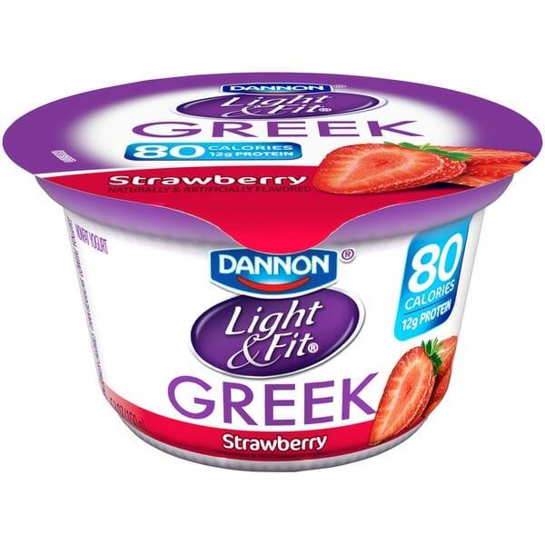 Dannon Light and Fit Low-fat Yoghurt