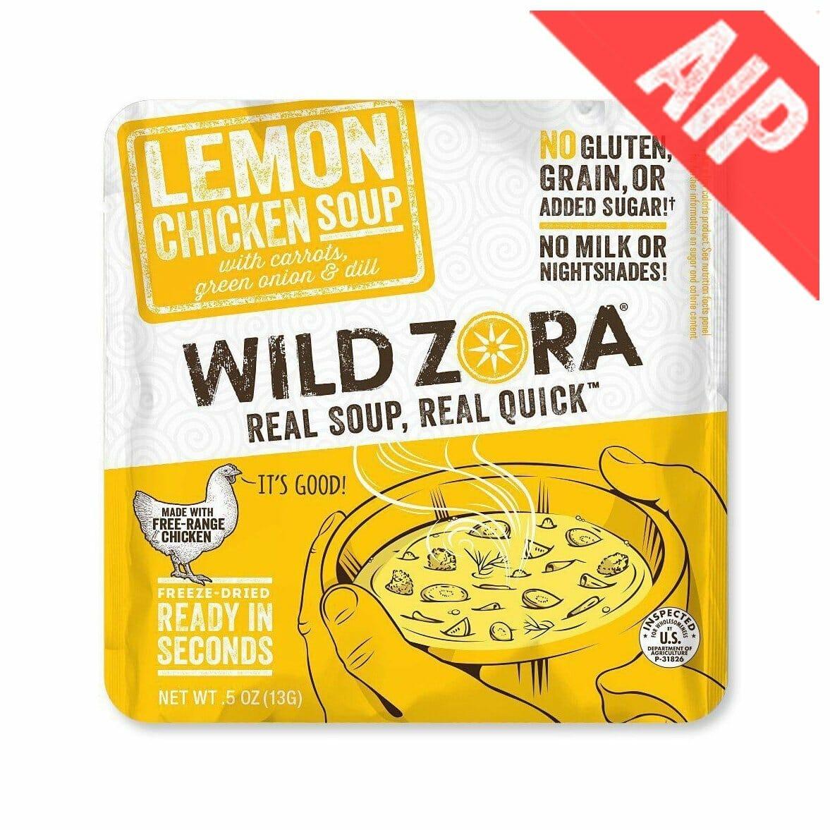 Wild Zora - Lemon Chicken Soup