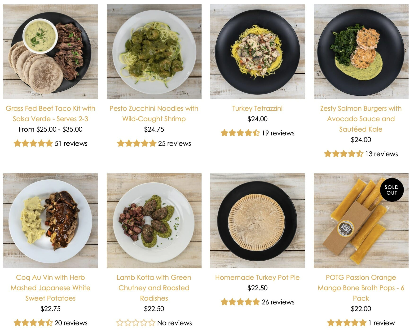 Paleo On The Go - AIP meals