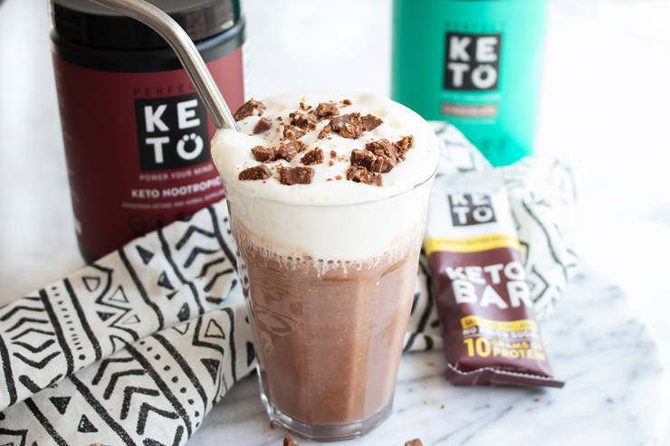 Triple Chocolate Breakfast Smoothie (Perfect Keto)