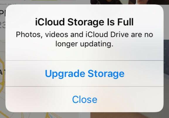iCloud Storage Is Full