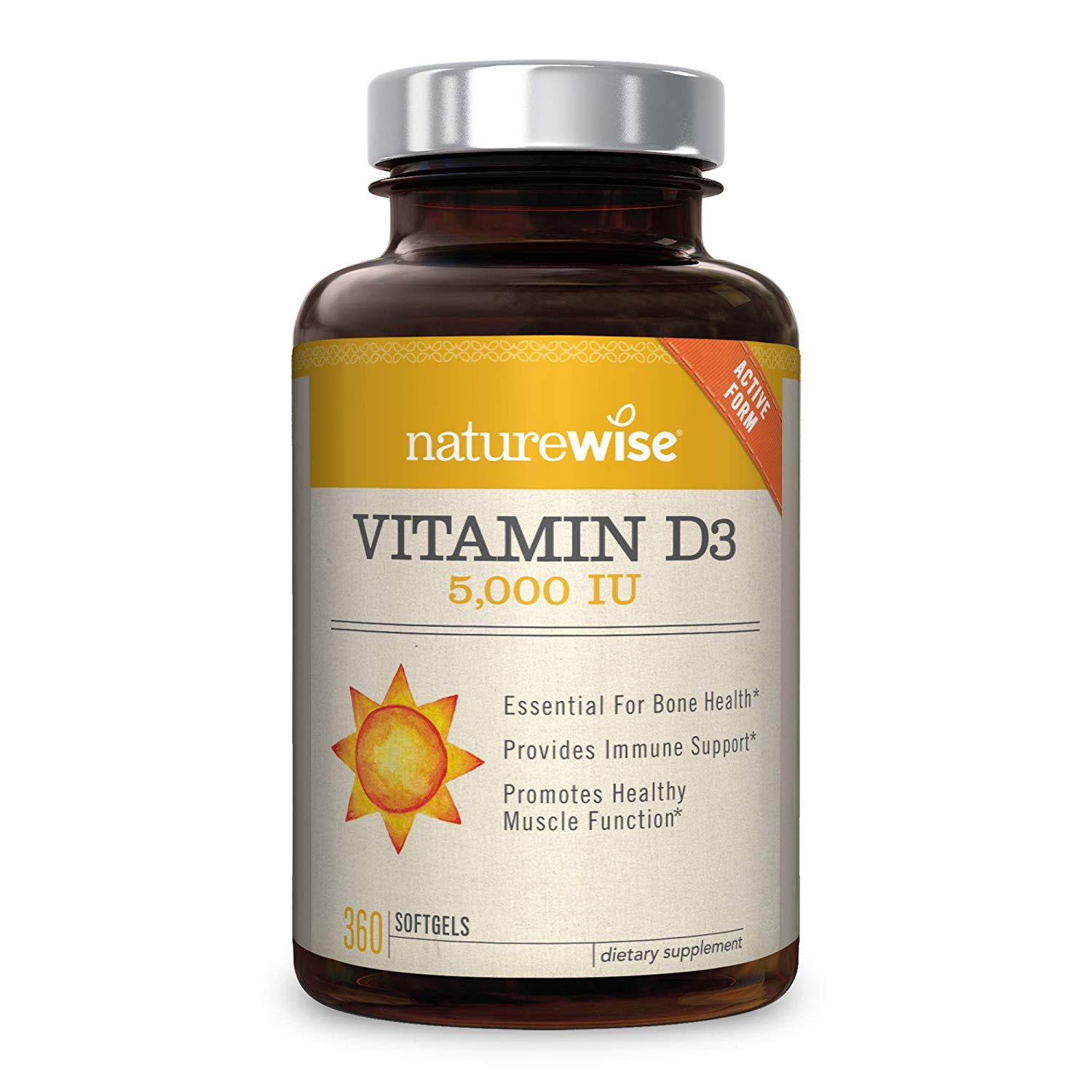 Supplementing with Vitamin D can help boost testosterone