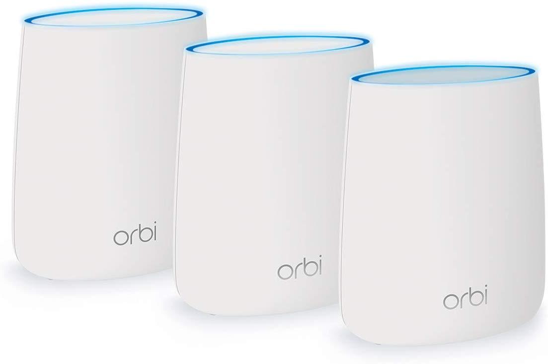 AmpliFi vs. NETGEAR Orbi Tri-band Whole Home Mesh WiFi System