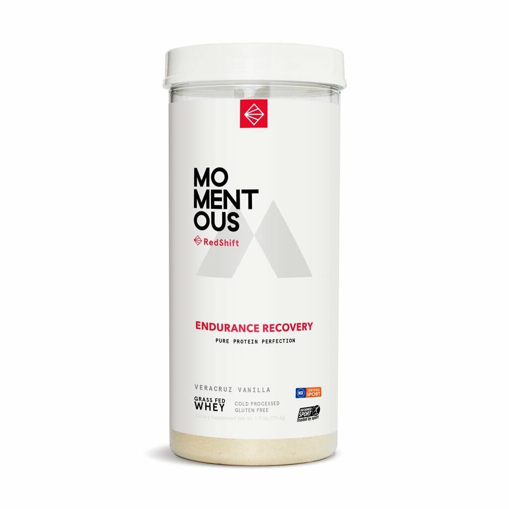 Momentous RedShift Endurance Whey Protein