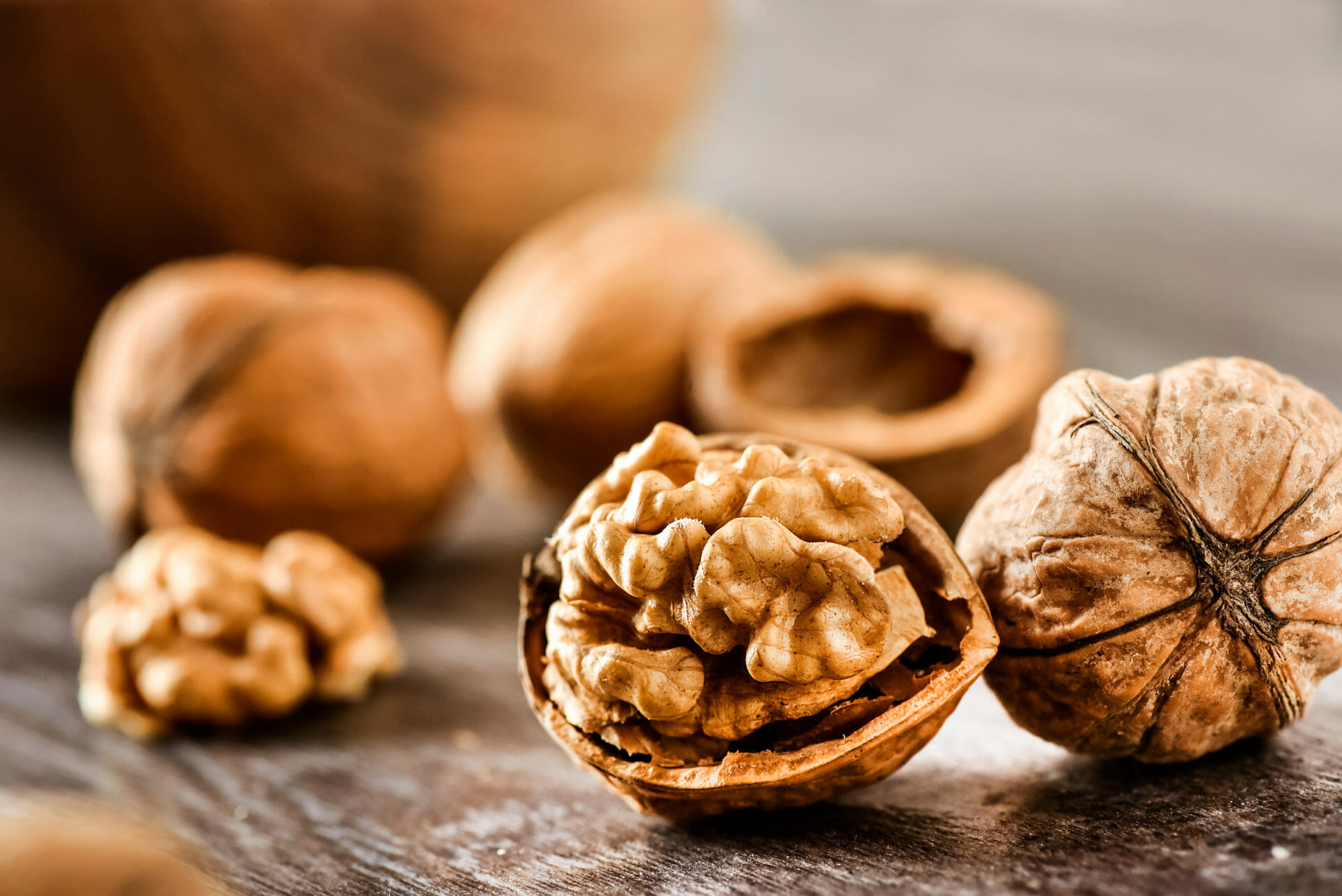 Walnuts are relatively high in omega 6