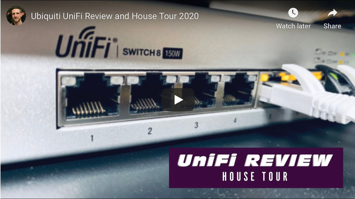 How I deployed UniFi in our home (video)