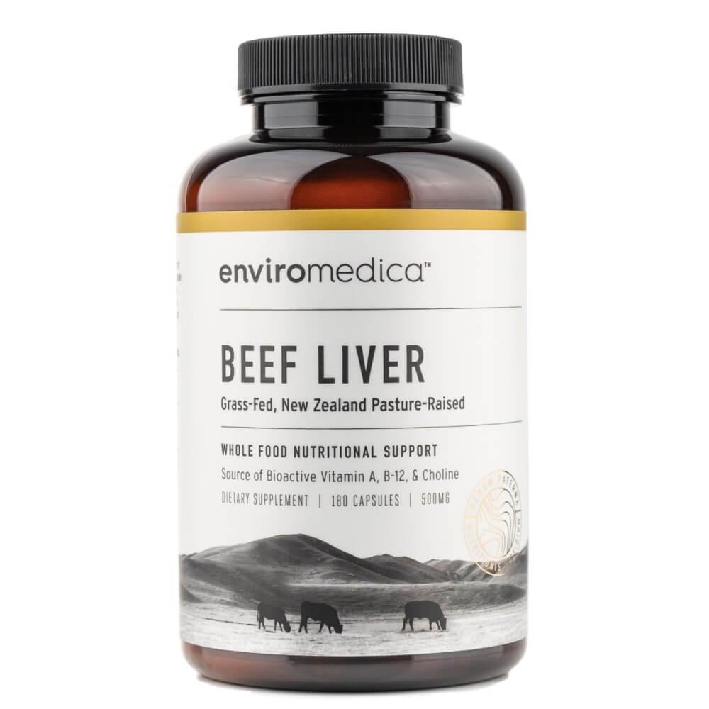 Enviromedica pastured beef liver capsules